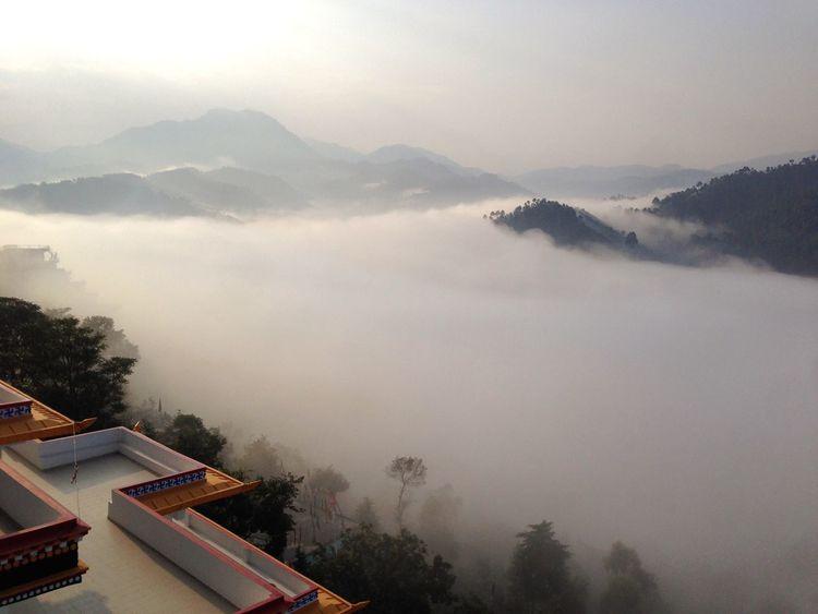 Traveling Menri Dholanji Bon Mountains Open Edit