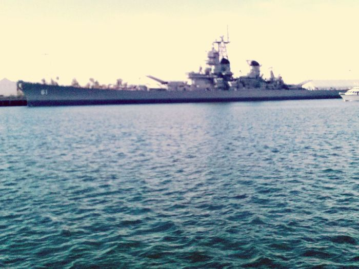 Navy Ship Water