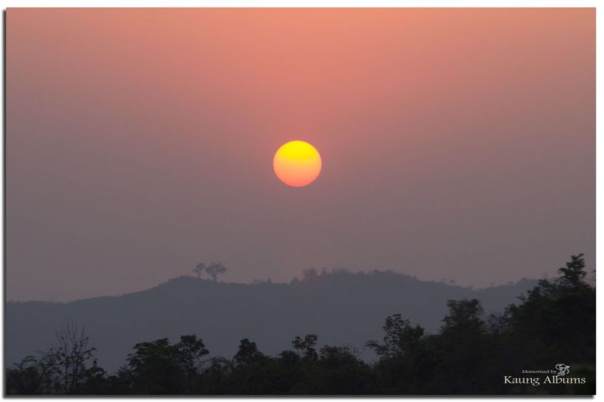 Sunset Beauty In Nature Landscape_photography at The View Pyin Oo Lwin