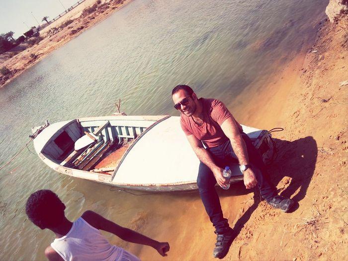 El Kobab Lake Noba Enjoying Life