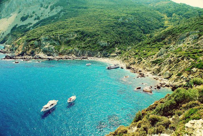Seascape Blue Sea Skiathos Skiathos_island Bay
