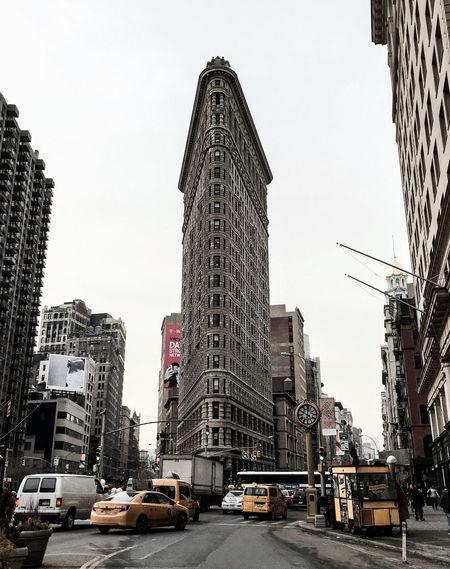 Flat Iron Building Manhattan Winter 2015 Timyoungiphoneography Gothams_ambassador NYC Morning Commute