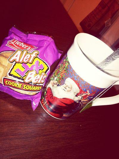 6 PM tea time ♥ Cookies And Tea Green Tea Yummy Relaxing