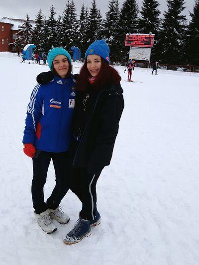 Winter Snow Ski-wear После гонки)) First Eyeem Photo
