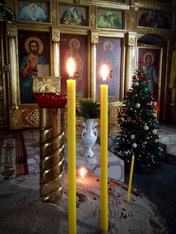 Candle Light свеча Candle Christmas