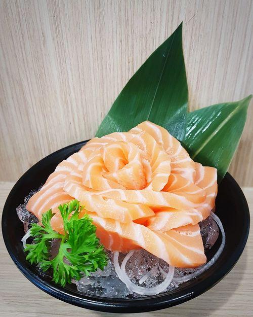 Salmon lover Salmon Sashimi SalmonLove Salmon