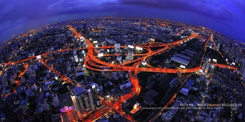 CR : RBJ's PIX Bangkok Thailand. EyeEm Thailand Birdeyeview.