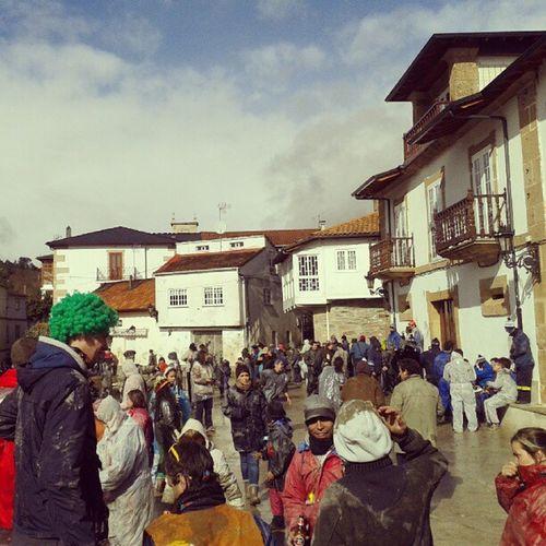 Farrapada Laza Entroido Carnival Ourense Galicia barro rags mud dust picoftheday instamoment instaphoto instagood photooftheday instadaily