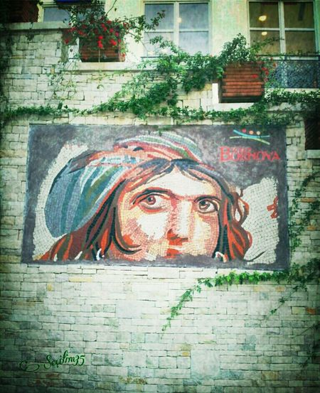 Original in Turkey-Gaziantep. The Gypsy Girl Gaia (Zeugma Mosaic Museum) GIPSY KING-MOSAIQUE :) Flowers Portrait Enjoying The View Architectural Detail Turkey Izmir Nature_collection Brick Trick