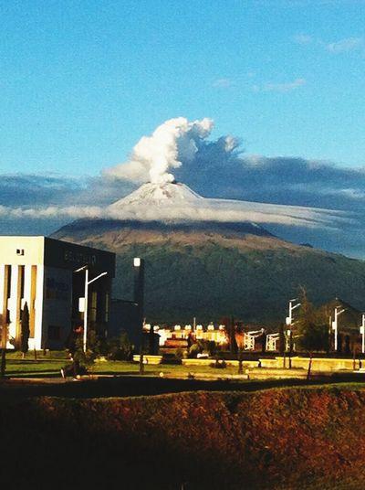 Hermosa postal de nuestro volcan..! First Eyeem Photo