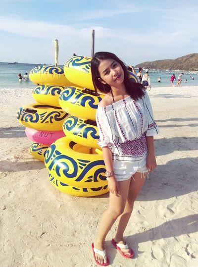 It Me @เกาะล้าน ชลบุรี Thailand Skyandsea Traval Island Smile :) Buetiful Happy Time Relaxing