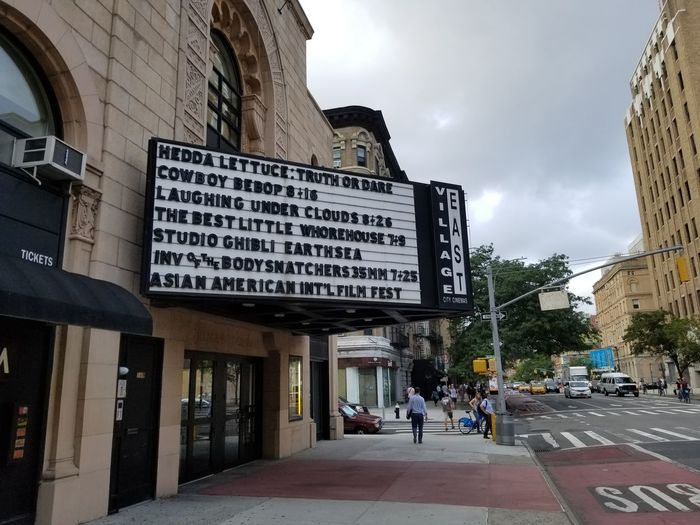 Marquee Theater Movie Theater City Text Building Exterior Built Structure Sky
