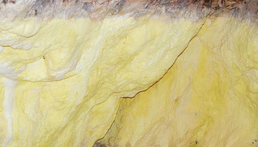 Yellow cave wall Pastel Power Getting Inspired Nature Art EyeEm Nature Lover EyeEm Gallery Nature_collection Natural Pattern Minerals Light Yellow Cave Romania Wall Simple Beauty