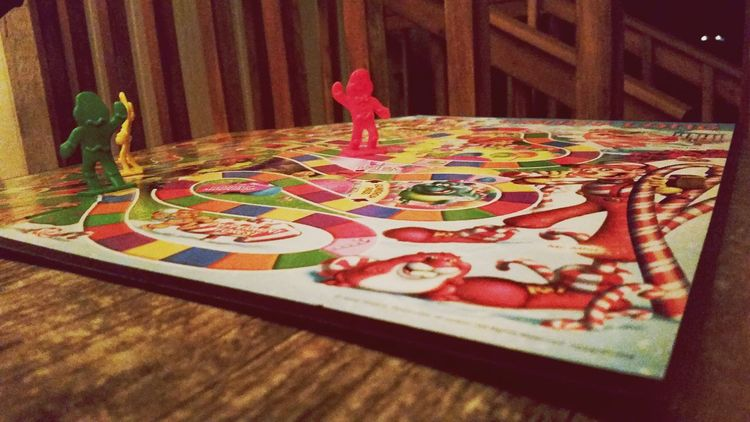 No People Night Board Games Childhood Memories Candyland Colorful Innocence Adolescence