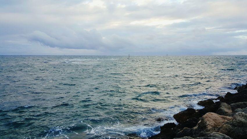 Horizon Over Water Beauty In Nature Cloud - Sky Storm Stormy Weather Storm Clouds Rippled Sea Water Ocean Ocean Photography Oceanside Oceanscape Indian Ocean Rocky Rocks And Water Rocky Coastline Rocks Clouds Clouds And Sky Cloudy Skies Cloudscape