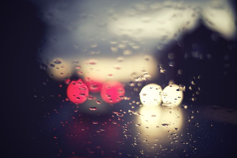 Car Lights City Bokeh Car Car Interior Car Lights At Night City Rain Day Droplet Dusk Dusk In The City Glass Glass - Material Looking Through Window No People Rain RainDrop Rainy Day Transparent Window