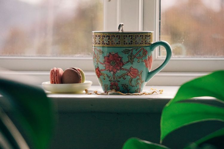 autumn moods Food Food And Drink Still Life StillLifePhotography Tea Time Tea Fall Autumn Cosy Hygge Windowsill Window Box Close-up Green Color Teabag Tea Cup Tea - Hot Drink Teapot Tea Black Tea Afternoon Tea Green Tea Herbal Tea Tea Ceremony Autumn Mood Autumn Mood