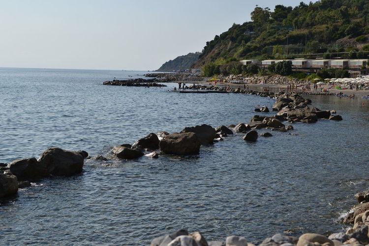 Italy: Cilento landscape Sun Water Sea Summer Italy Views Rocky Coastline Bay Of Water Seascape Coast Calm Horizon Over Water