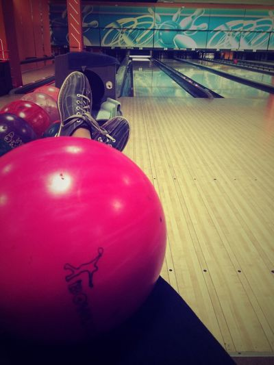 Strike! Enjoying Life