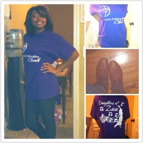 My Daughter of Zion shirt!!