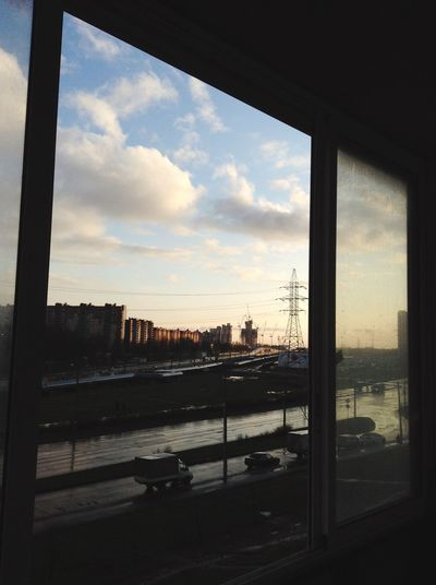 Window Sky Cloud Day