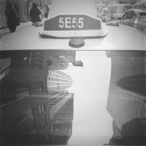The Minimals (less Edit Juxt Photography) Reflection Blackandwhite