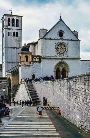 Architecture Traveling Travel Photography Assisi Borgo Antico Italy Umbria Italy❤️ Basilica Di San Francesco Church Rem📸 Photography