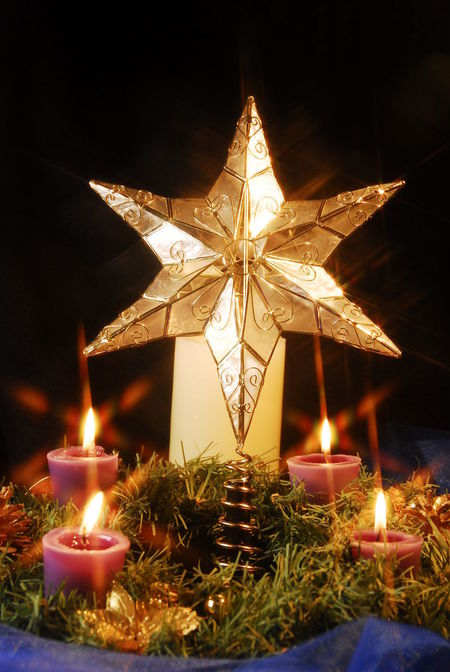 Christmas Candle Celebration Celebration Event Christmas Christmas Decoration Christmas Lights Christmas Ornament Christmas Tree Close-up Decoration Flame Glowing Gold Colored Holiday - Event Illuminated Indoors  Night No People Star Shape Tradition Candlelight Candles Candle Light Candle Night