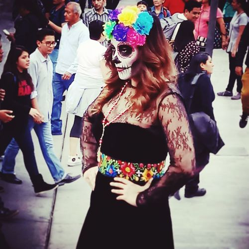 Catrina Urban Life One Person Photography Tradition Mexico Culture And Tradition Mexico City