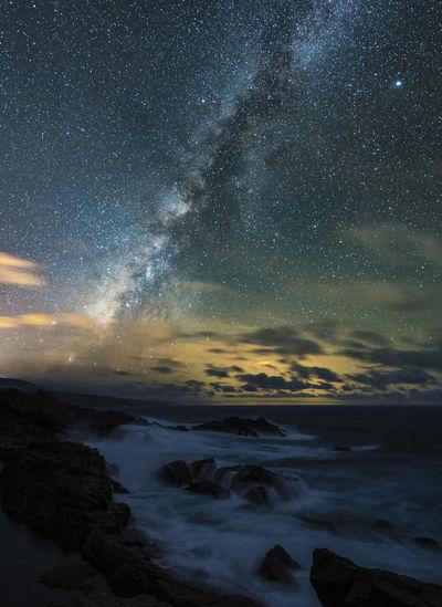 Nightphotography Nikon Guided Photography Long Exposure Milky Way Night Nightscape Seascape