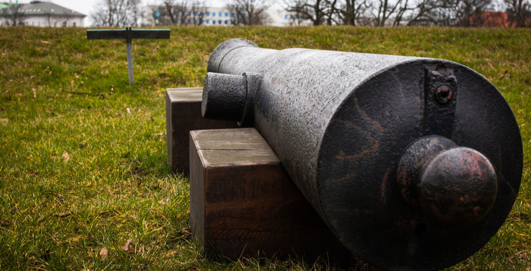 Army Canon Copenhagen Culture Danish Culture Danish History Day Defence Defences Grass Growth Historic History Iron - Metal Military Weapon Millitary Nature No People Old School Outdoors Travel Destinations Travel Photography Weapon Yard