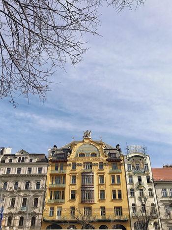 Hotel Europe Façade Architecture Art Art Nouveau Building Exterior Built Structure History Travel Destinations