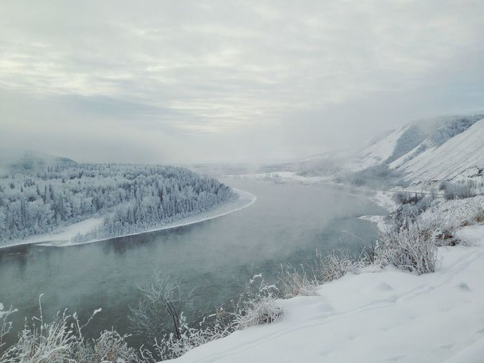 EyeEm Best Shots Winter Wonderland Save The Peace RiversavethepeaceriverBC British Columbia peace river this will be gone Say No To Site C BC Landscapes With WhiteWall