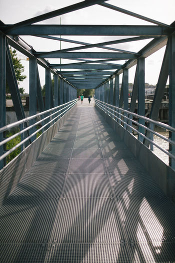 View of footbridge