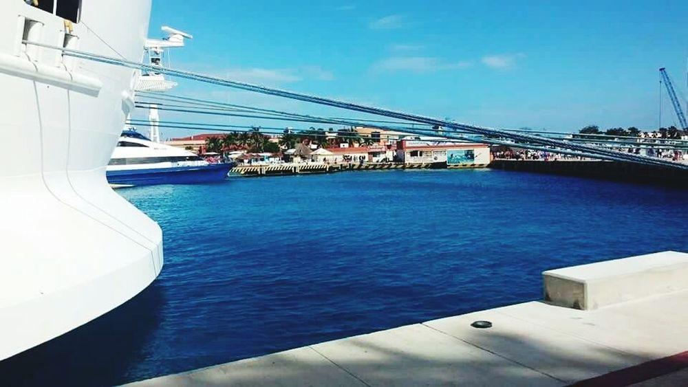 Boat Dock Ocean Cruise