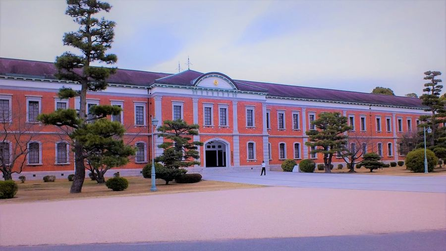 Historical Building Japan Japan Photography Naval Academy  Brick Eta-jima History Japan Scenery Jsdf Navy Red Brick