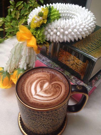 Hot chocolate with me ? Enjoying Life