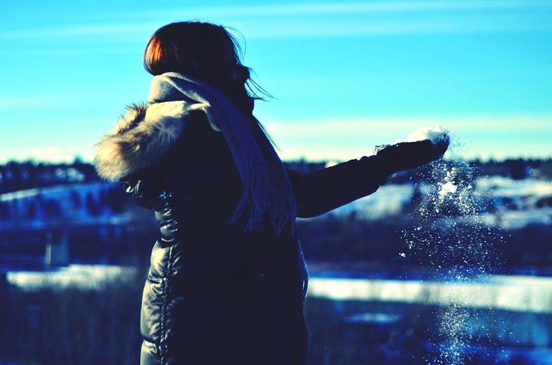 Fall in fall. Edmonton Alberta Snow Winter Wintertime Cold Cold Temperature Fall