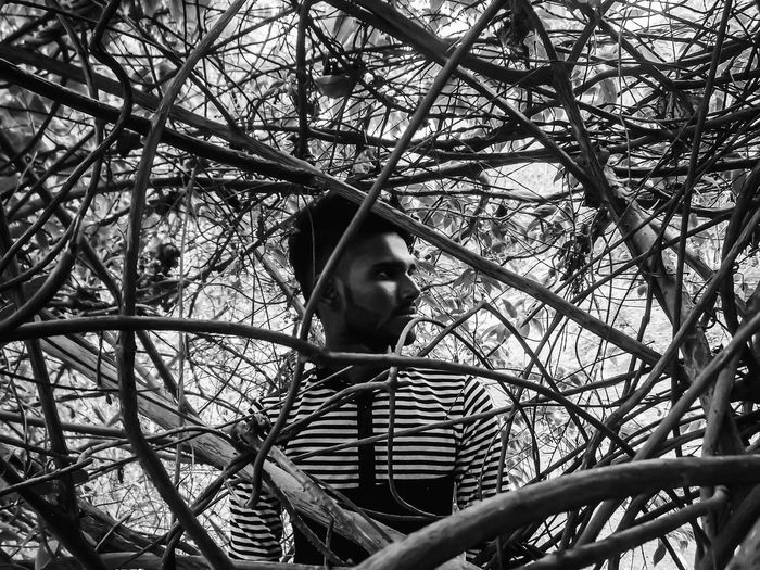 First Eyeem Photo Portrait Of A Friend Morning Light Perfect Shot With Perfect Friends! B/W Photography Tree