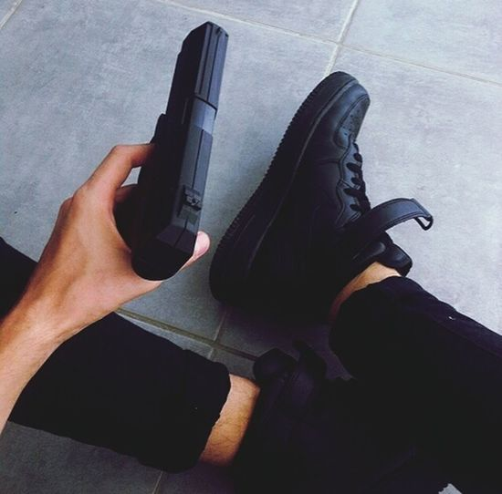 Gun Girl Look Like Swag Beutiful  Nike✔ Air Force Force
