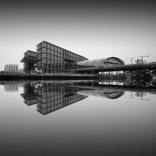 Central Station   Berlin (2016) • © SRAA Photography   Sebastian Raabe Reflection Water Symmetry Standing Water Built Structure Architecture Waterfront Building Exterior No People Outdoors Day Sky Tranquil Scene Berlin Nikon D5500 Long Exposure Longexposure Longexpoelite Nikon Travel Destinations City Architecture Trainstation Mainstation Famous Place The Architect - 2018 EyeEm Awards