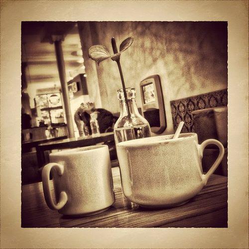 coffee to stay on a beautiful day Bw Hamburg Bnw Monochrom Snapseed Welovehh IGDaily Simplyb Coffee Streetphotography Timeforacoffee Camera Noir Blackandwhite Sunday