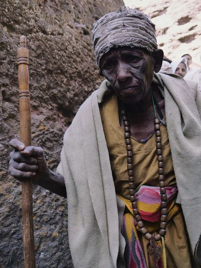 Pilgrim Old Woman Lalibela Leddet Ethiopia Portrait Front View Close-up Worn Out Historic International Women's Day 2019 The Portraitist - 2019 EyeEm Awards