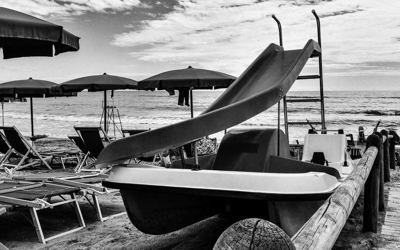 Italian beach black and white Beach Photography Beach Black And White Cloud - Sky Italian Beach Sand Sea Sky Summer EyeEmNewHere