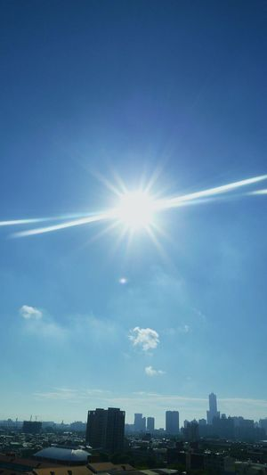 ⛅艷 陽 天⛅🌞 Sunset_collection Sunrise Sky And Clouds Colors Blue Sky Eyem Nature Lovers  Butiful♥