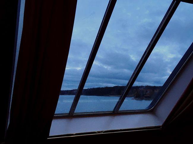 Window Sky Cloud - Sky No People Nature Sea Sea And Sky Day