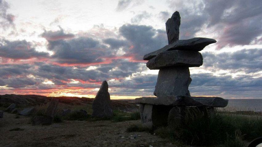 Here Belongs To Me Northern Manitoba Inukshuk Hudson Bay First Eyeem Photo