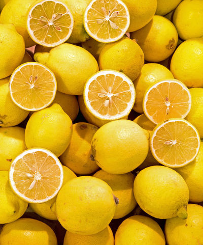 background of lemons Palermo Limone Yellow Giallo Many Ripe Fruit Group Food Freshnesss Grocery Store Greengrocery Shopping Day Many Much Sicily Catanzaro Mediterranean  Mediterranean Food Spaın Fruit Citrus Fruit Lemon Food And Drink Freshness Food Backgrounds