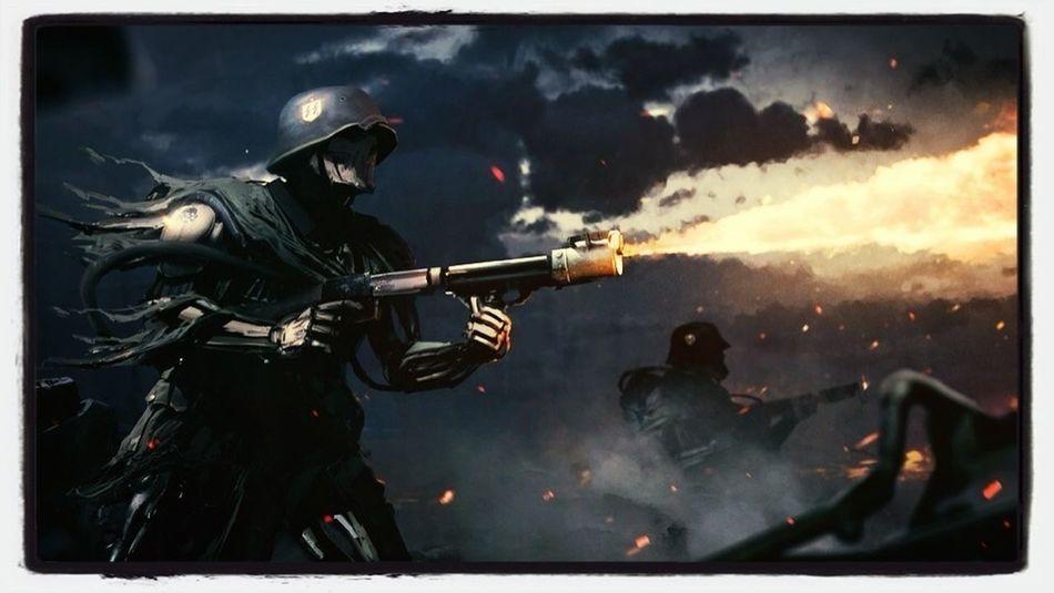 #fire #nazi # war