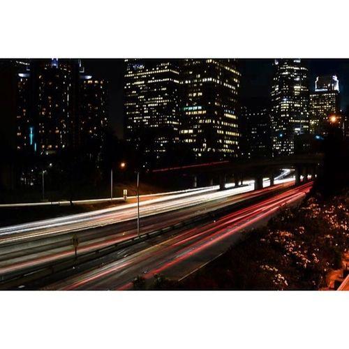 Freeways are cool I guess 😏 Losangeles Weownthenight_la DiscoverLA Weshootla Longexposures